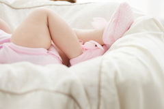 Pequeño sueño del bebé Imagen de archivo
