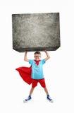 Pequeño super héroe Imágenes de archivo libres de regalías