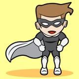 Pequeño super héroe Foto de archivo libre de regalías