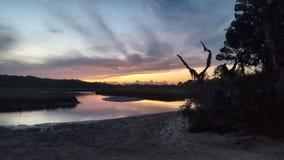 Pequeño Talbot Island Sunset Fotos de archivo