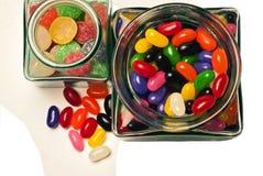 Pequeño tarro del caramelo Foto de archivo libre de regalías