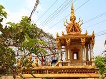 Pequeño templo de la calle Fotografía de archivo libre de regalías