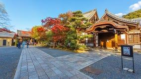 Pequeño templo en Chion-en el complejo en Kyoto Foto de archivo libre de regalías