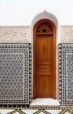 Pequeño umbral marroquí fotografía de archivo