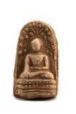 Pequeño uso antiguo de la imagen de Buda como amuleto Fotos de archivo libres de regalías