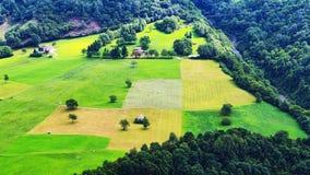 Pequeño valle Foto de archivo libre de regalías