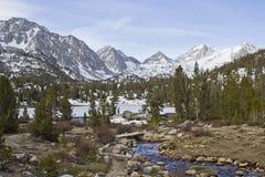 Pequeño valle de los lagos Imagen de archivo