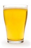 Pequeño vidrio de cerveza Imagen de archivo libre de regalías