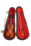 Pequeño violín imagenes de archivo