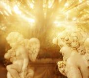 Pequeños ángeles Foto de archivo