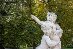 Pequeños ángeles en Viena Fotos de archivo libres de regalías