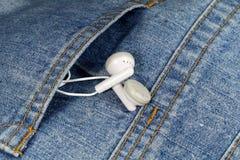 Pequeños auriculares Fotos de archivo libres de regalías