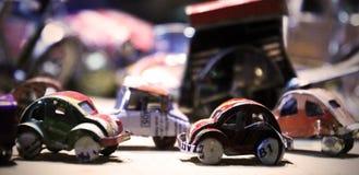 Pequeños coches Fotos de archivo libres de regalías