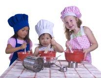 Pequeños cocineros Fotos de archivo libres de regalías