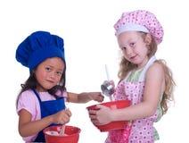 Pequeños cocineros Fotografía de archivo libre de regalías