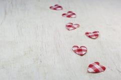 Pequeños corazones Foto de archivo libre de regalías
