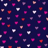 Pequeños corazones Imágenes de archivo libres de regalías