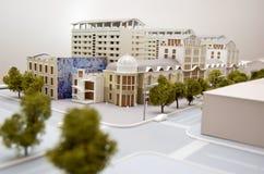 Pequeños edificios Imágenes de archivo libres de regalías