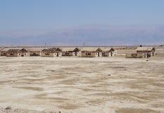 Pequeños edificios industriales abandonados Foto de archivo
