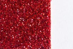 Pequeños guijarros rojos, extendido completamente plano del mosaico fotografía de archivo
