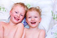 Pequeños hermanos Fotografía de archivo libre de regalías