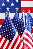 Pequeños indicadores americanos Imagen de archivo