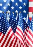 Pequeños indicadores americanos Foto de archivo