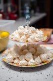 Pequeños merengues Foto de archivo