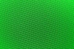 Pequeños números binarios verdes Foto de archivo