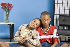 Pequeños niños Imagen de archivo
