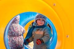 Pequeños niños Fotos de archivo libres de regalías
