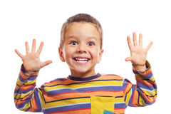 Pequeños niños sonrientes Fotografía de archivo