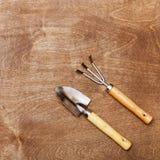 Pequeños palas y rastrillos Foto de archivo libre de regalías