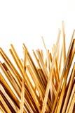 Pequeños palillos de madera finos Imagen de archivo libre de regalías