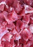 Pequeños pedazos de carne Fotografía de archivo libre de regalías