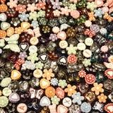 Pequeños pedazos de joyería Fotografía de archivo