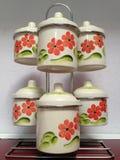 pequeños potes Foto de archivo libre de regalías