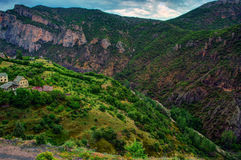 Pequeños pueblos de la región del Mar Negro de Anatolia, Turquía Fotografía de archivo