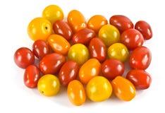 Pequeños tomates Foto de archivo libre de regalías