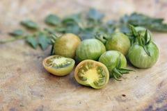Pequeños tomates Imagen de archivo