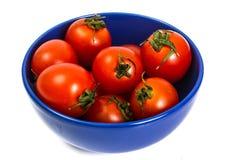 Pequeños tomates rojos Foto de archivo libre de regalías