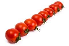 Pequeños tomates rojos Imagenes de archivo