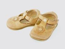 Pequeños zapatos Fotografía de archivo libre de regalías
