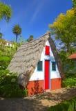 Pequeña casa agradable Fotografía de archivo libre de regalías