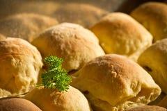 Pequeña empanada hecha en casa preparada Foto de archivo