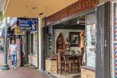 Pequeña Havana Miami Cigar Store Imagenes de archivo
