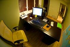 Pequeña oficina Foto de archivo libre de regalías