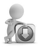 3d pequeña gente - transferencia directa Imágenes de archivo libres de regalías