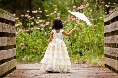 Pequeña princesa Fotos de archivo