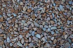 Pequeña textura de las piedras Foto de archivo libre de regalías